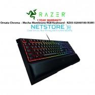 image of Razer Ornata Chroma – Mecha-Membrane RGB Keyboard - RZ03-02040100-R3M1