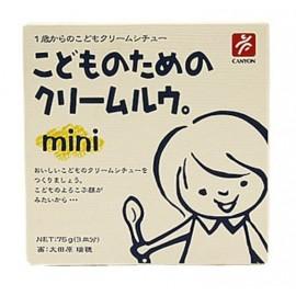 image of 日本Canyon Mini Carbonara兒童奶油咖喱塊