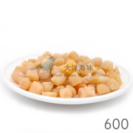 image of Chinese Dried Scallop Size 600 大连干贝600头 (1x100g)