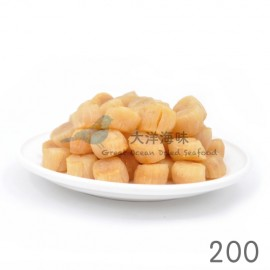 image of Chinese Dried Scallop Size 200 大连干贝200头 (1x100g)
