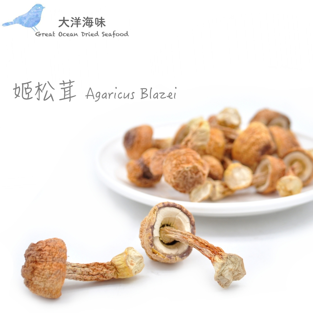 Agaricus Blazei 姬松茸/巴西蘑菇/抗癌蘑菇 (1x100g)