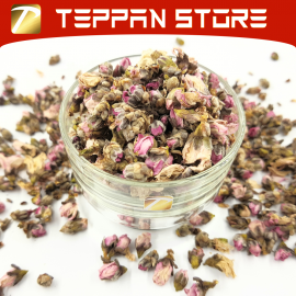 image of [50g] Peach Flower Tea | 桃花花茶 Teh Bunga Pic -Malaysia -Flower Tea -Teh Bunga