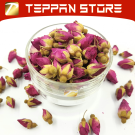 image of [50g] Red Rose Flower Tea | 红玫瑰花茶 Teh Bunga Mawar Merah -Malaysia -Flower Tea -Teh Bunga