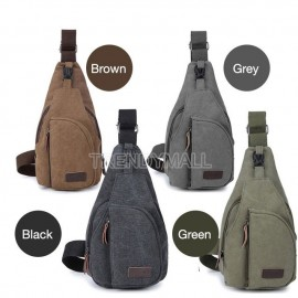 image of Men's Chest Canvas Sling Bag/Casual Bag