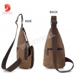 Men's Chest Canvas Sling Bag/Casual Bag
