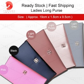 image of Ready Stock Ladies Long Purse/ Women Wallet