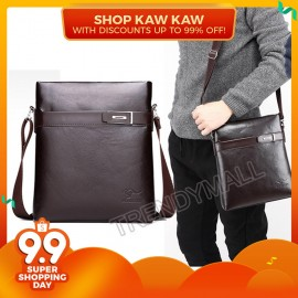 image of Readystock High Quality Faux Leather Men's Cross Body Bag/ Sling Bag