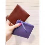Korea Fashion Genuine Lambskin Women Purse / Wallet