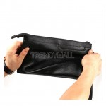 Faux Leather Large Capacity Clutch /Wristlet
