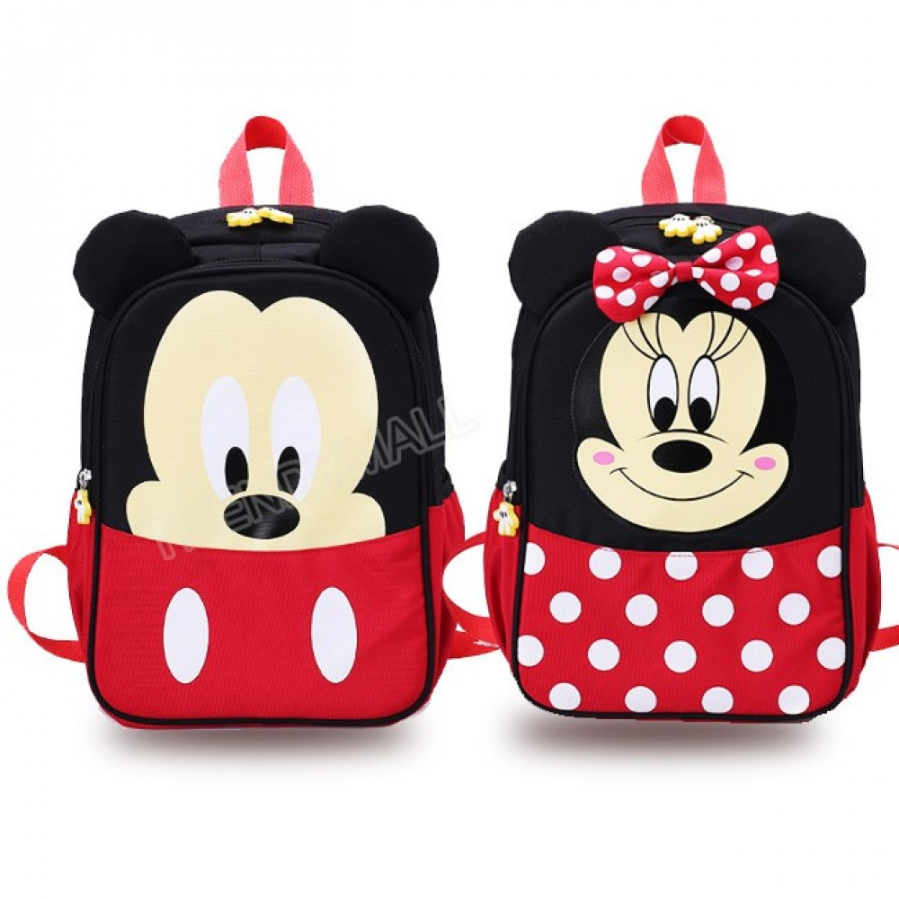 Mickey Minnie Kids Backpack/ School Bag
