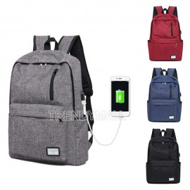 image of USB Laptop Backpack/ Casual Backpack