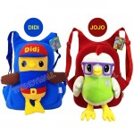 Readystock  DIDI & JOJO Plushtoy Kids Backpack
