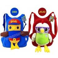 image of Readystock  DIDI & JOJO Plushtoy Kids Backpack