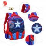 Ready Stock 3D Backpack Student School Bags