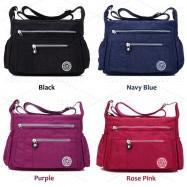 image of [Ready Stock] Nylon Ladies Sling Bag / Handbag