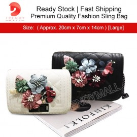 image of [Clearance Sale] Premium Quality Ladies Sling Bag/ Handbag