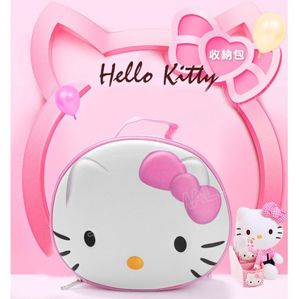 Readystock 3D Kitty Cosmetic Pouch / Multipurpose Pouch