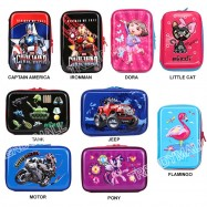 image of Pony - Inspired 3D Marvel Heroes Large Pencil Case / Stationery