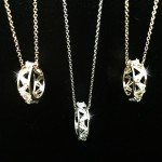 Korea Fashion Crystal Ring Necklaces