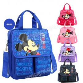 image of Readystock Mickey Minnie Tuition Bag/ Backpack