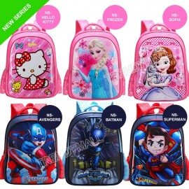 image of Readystock Malaysia-  Kids Backpack / School Bag