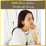 2016 Korea Fashion High Quality Pearl With Flower Earrings