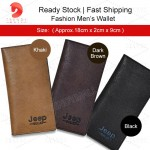 Readystock Men's Long Wallet
