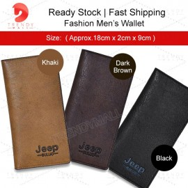 image of Readystock Men's Long Wallet