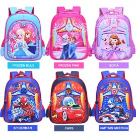image of 3D Cartoon Backpack / School Bag Readystock Msia!