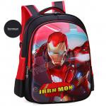 3D Marvel Hero Kids school Backpack / Spiderman School Bag