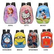 image of Readystoc - 3D Hard Case Eggshell Kids Backpack