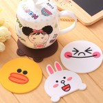 [Ready Stock]Cute Cartoon Set Cup Coaster