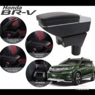 image of Armrest Honda BR-V Double Layer Black Stitching (Non-USB)