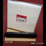 Cabin Air Filter Carbon Fiber Honda BR-V With Cover Kit