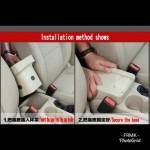 Armrest Perodua Bezza Double Layer Black Stitching (Non-USB)