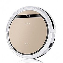 image of ILIFE V5s Pro Robotic Vacuum Cleaner with Water Tank Mop, Mopping Floor Scrubbing Robot