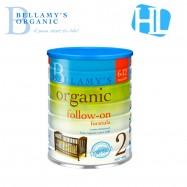 image of Bellamy's Organic Step 2 Organic Follow On Formula 900g