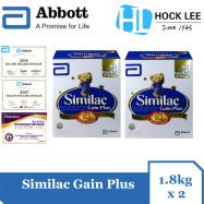 image of Similac Gain Plus 1.8kg BIB X 2