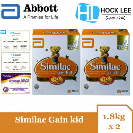 image of Similac Gain Kid 1.8kg BIB X 2