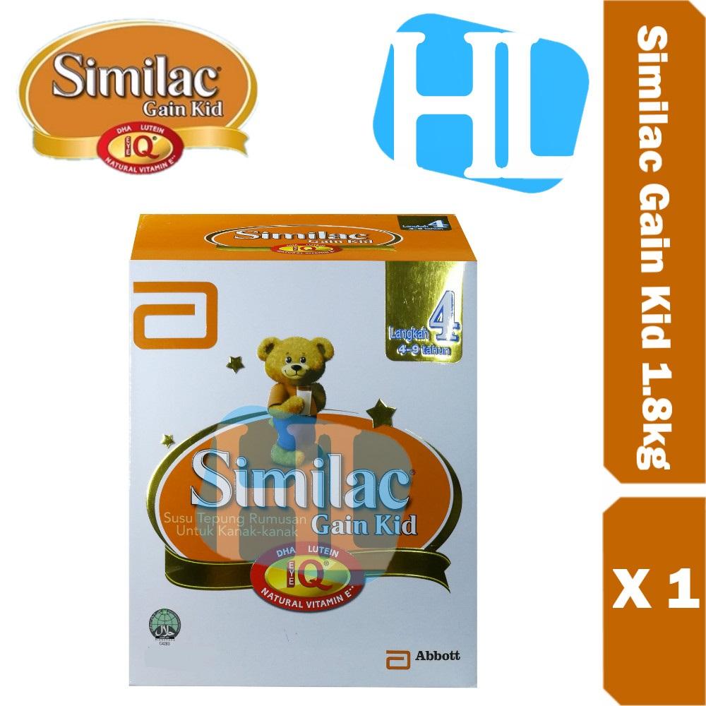 Similac Gain Kid 1.8kg BIB X 1