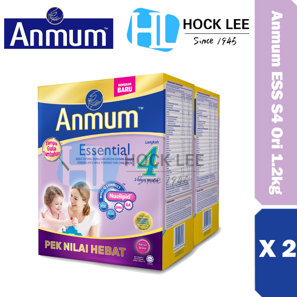 Anmum Essential Step 4 Original 1.2kg X 2