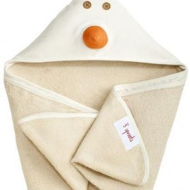 image of 3 Sprout Hooded Towel