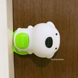 image of Cute Dog Baby Door Protector