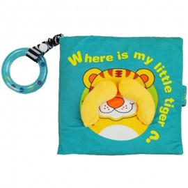 image of [Little B House] Cloth Book - Where Is My Little Tiger -BT02
