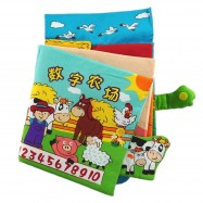 image of [Little B House] Cloth Book - Number and Farm -BT04