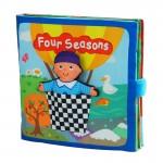 [Little B House] Cloth Book - Four Seasons -BT07