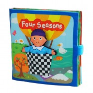 image of [Little B House] Cloth Book - Four Seasons -BT07