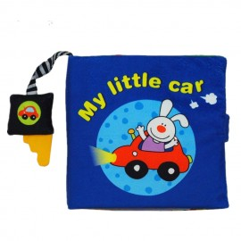 image of [Little B House] Cloth Book - My Little Car -BT03