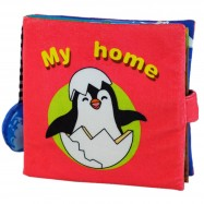 image of [Little B House] Cloth Book - My Home -BT05