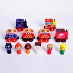 [Little B House] Anpanman Magnet Wooden Train Set -BT22